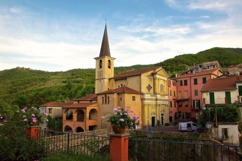 Borgomaro , Liguria , Italy Pitoresque Imperia