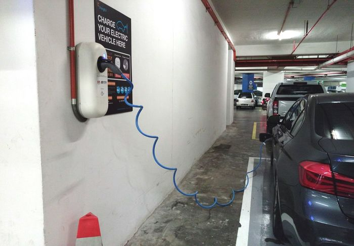 Electric car charger Technology Development Car High Technology Easy Advanced New Source Energy