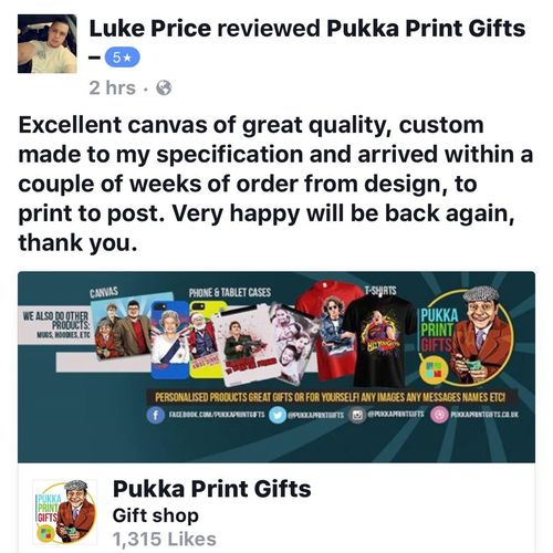 Just Sharing Customer Feedback! Msg Me If Want Anything! Phone/Tablet Cases Canvas Clothing PUKKAPRINTGIFTS.CO.UK