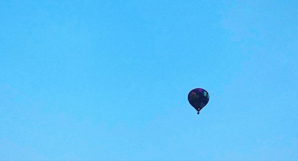 Waving at the Hot Air Balloon BURNBABYBURN Hello World what a Gift at the end of this wonderful Weekend Flying High Capturing Freedom Deceptively Simple Minimalism