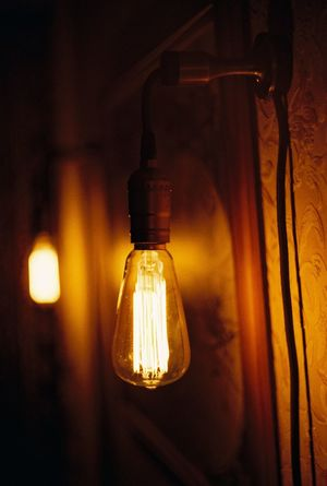 Light Deep Getting Inspired Edison Edison Bulb Electric Lamp Electric Light Electricity  Evening Evening Lights Focus Handmade Taking Photos Home Lamp Light Bulb Map No People Odessa Oldschool Oldstyle Picture On The Wall Retro Soft Softness Bokeh