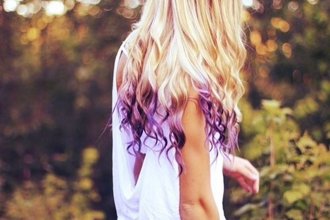 Hmm, so I decided to dip dye my hair different colors each month until December. I know it will damage my hair but just the bottom of my hair, I can trim it. Anyways, do you guises think I should do this? c: