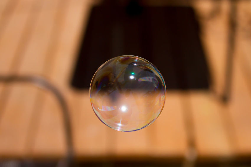 Bubble Clear Close-up Focus On Foreground No People Outdoors Selective Focus Sphere