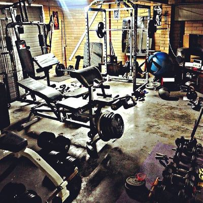 Homegym Gym Fit Beastmode Train JustDoIt Fitness Healthy Weights Iron Bench Motivate