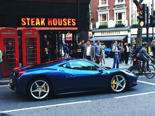 Picoftheday Check This Out Follow4follow Like4like Car Ferrari London Race For Life Racing Girl Fast Fabulous meeting in London lanes 🚘🚦👌