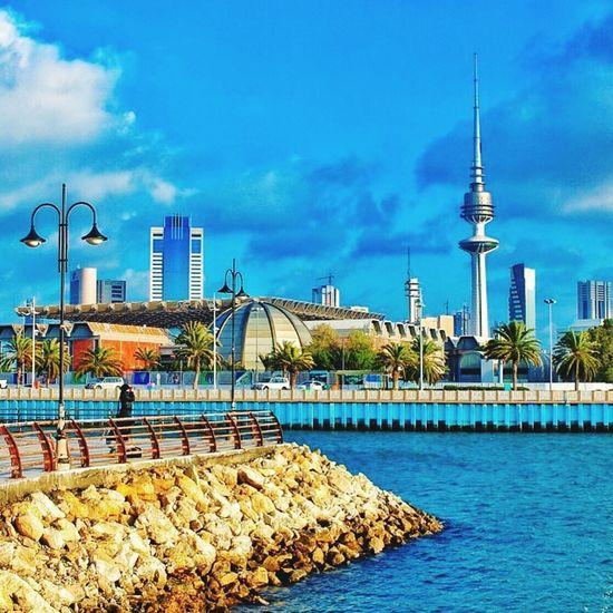صباح الخير ❤ Kuwait City City Lights