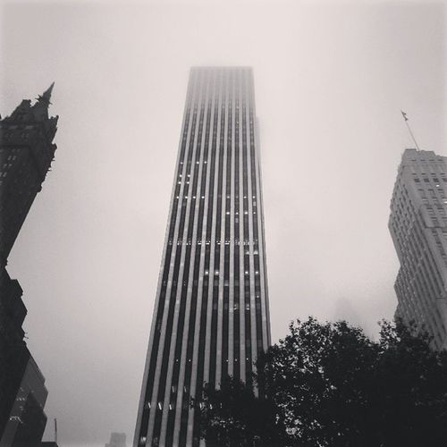 Looking Up Building General Motors  The Plaza Hotel Madison Avenue Manhattan NYC Photography Architecture_bw Fine Art Photography