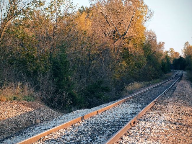 Photo essay - Marysville, Kansas October 15, 2016 A Day In The Life America Autumn Camera Work Color Photography Diminishing Perspective Eye4photography  EyeEm Gallery Fall Collection Kansas MidWest No People Non-urban Scene October Photo Diary Photo Essay Photography Railroad Track Railway Track Surface Level The Way Forward Train Track Tranquility Vanishing Point Visual Journal