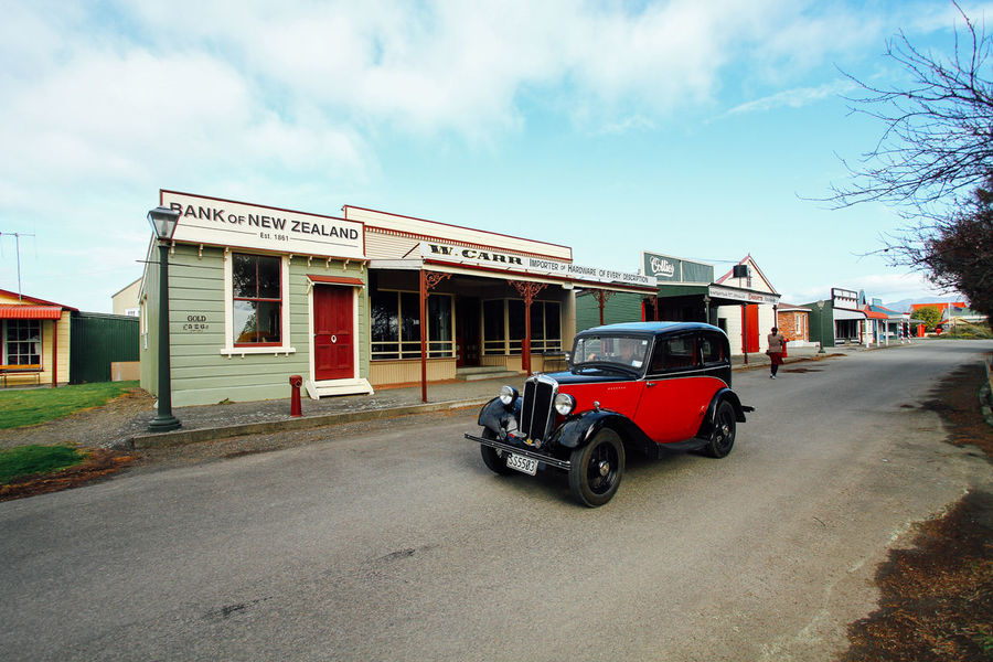 Architecture Bank Bank Of New Zealand Blenheim Building Car Classic Classic Car Heritage Heritage Village Land Vehicle New Zealand No People Old Building  Old Street Omaka Classic Cars Sky Transportation Travel Vehichle Vintage Vintage Car Vintage Street Vintage Style Working Holiday