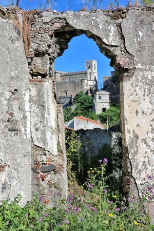 Savoca Messina San Nicolò Architecture Built Structure Building Exterior Outdoors Day No People Plant Old Ruin Flower Nature Sky