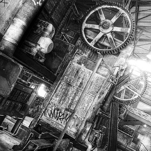 Étude: Pre-digital Machine Age Archaic Evergreenbrickworks Toronto Nexus5 nexus5photography vsco