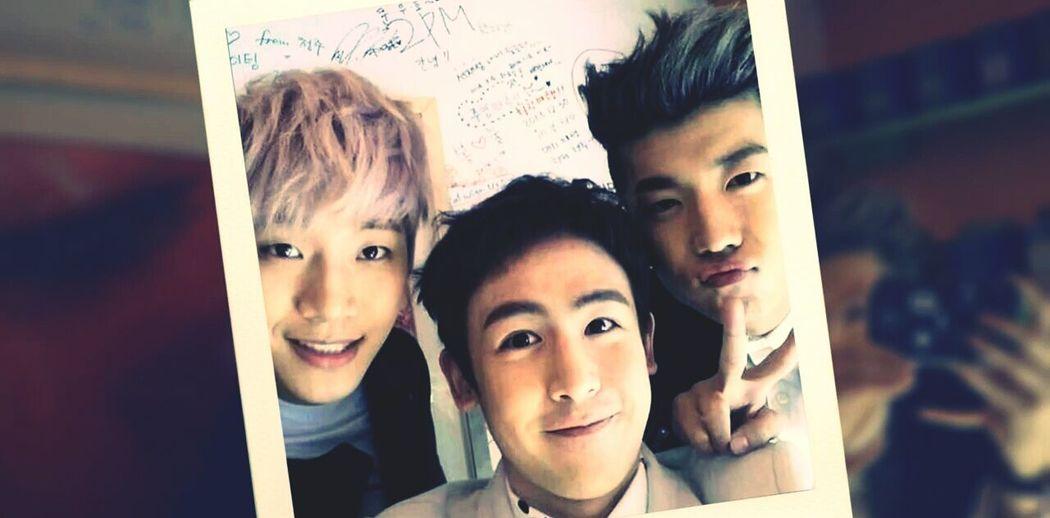 Junho Nichkun Wooyoung 2pm ^^ ...