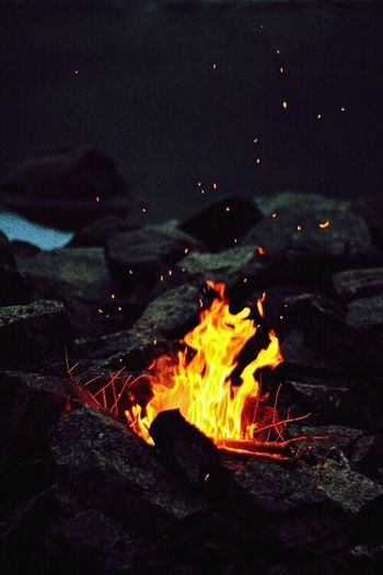 Fire place Night Photography Beautyineverydaythings
