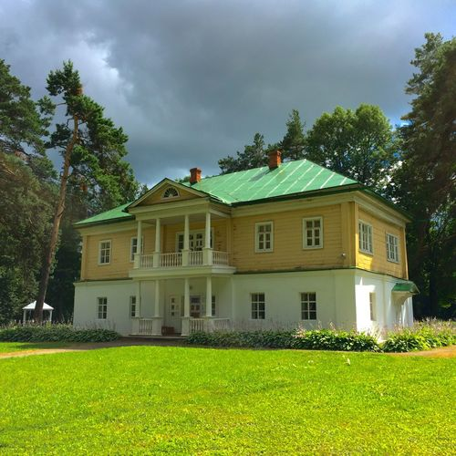 Aristocratic Mansion 19thcentury Historical Building Travelling History Adventures Mansion Summer Sunshine Hidden Places