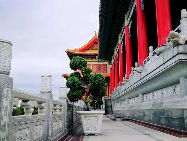Architecture Built Structure Travel No People Building Exterior Outdoors HuaweiP9 Fresh Colors Colors Colorful View Day Chinese Temple Chinese Style Chinese Art Chinese Architecture