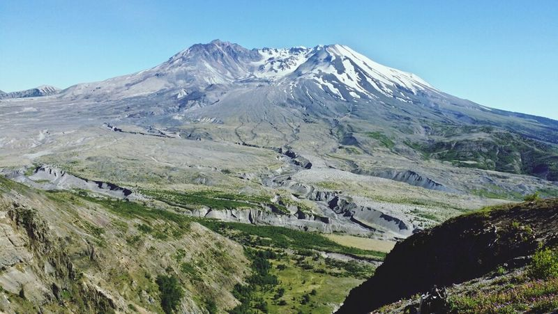 Volcano Washington State Mt. St. Helens  Mountain