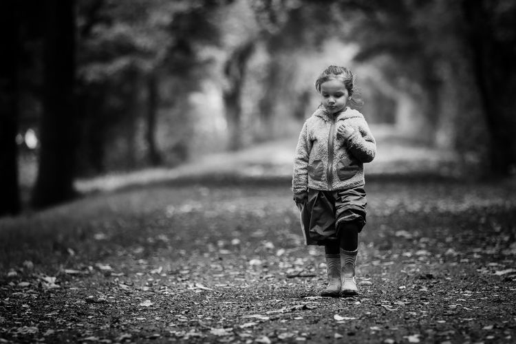 Lost in thoughts Kids Of EyeEm Alone Children Dreaming EyeEm Nature Lover Leafs Walk Alley Child Childhood Childhood Memories Children Photography First Eyeem Photo Forest Girl Girls Kid Leisure Activity Nature Outdoors Portrait Standing Thoughtful Tree Walking Way EyeEmNewHere The Portraitist - 2018 EyeEm Awards