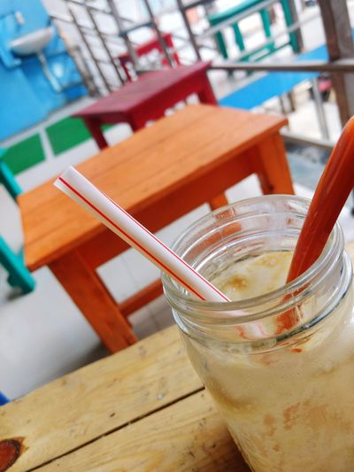 hangout Hangout Bestoftheday Empty Colourful ClashOfColors Blue Orange Color Photographer Photography Nikon Canon Peace Quiet Alone Only Me Drink Drinking Straw Drinking Glass Food And Drink No People Refreshment Table Day Freshness The Graphic City EyeEmNewHere