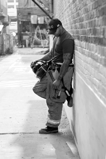 Firefighters Documenting Documenting Life Portrait Portraits Portraiture Portraits Of EyeEm Bnw Bnw_collection Bnw_captures Bnw_society Men Firedepartment EyeEmNewHere