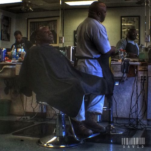 Hangin' at the shop. Barbershop HDR Hdr_Collection Taking Photos People Photography People Peoplephotography