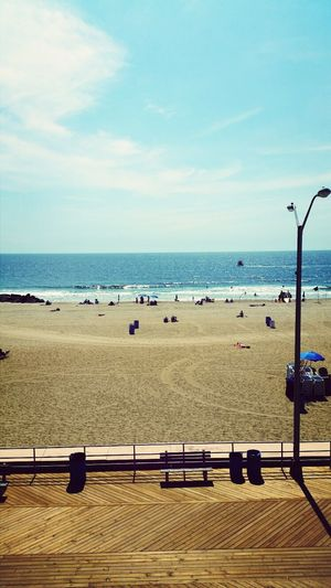 Beautiful View of Asbury Park Beach