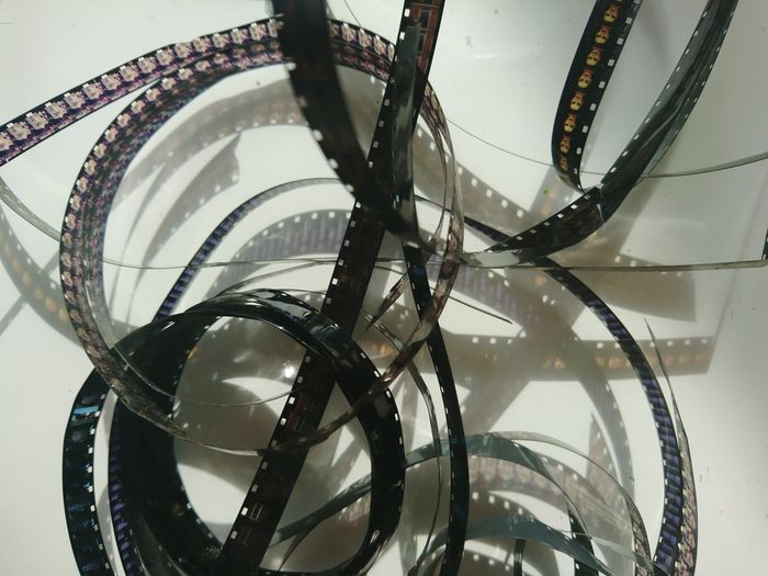 Low angle view of spiral wheel