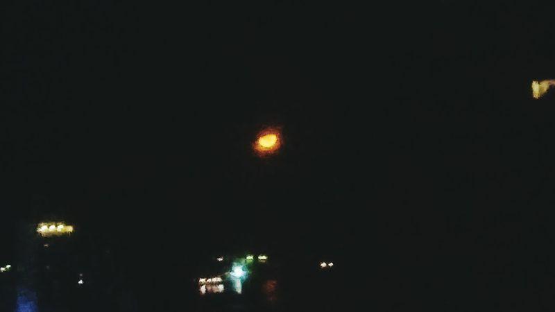 Moon Redmoon Orangemoon Night First Eyeem Photo Taftavenue Manila