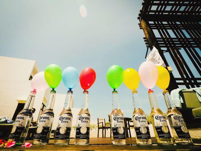 Beer Beer Bottle Corona Corona Beer Balloons