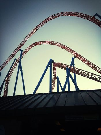 Rollercoaster at Hershey's park