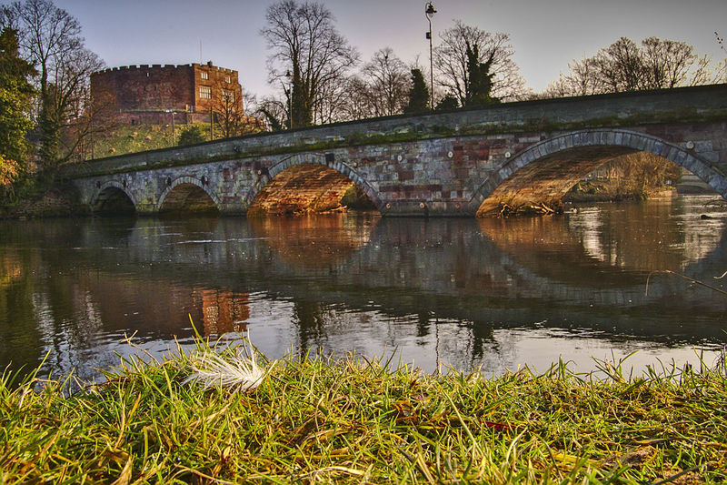 Bridge - Man Made Structure Nikon D500 Nikonphotography Tamworth Castle Tamworth Reflection Reflections In The Water Riverside River Feather  Reflection River Water Outdoors Tree Nature