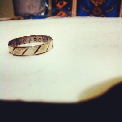 I still remember the day you gave me this ring. @marcos121795