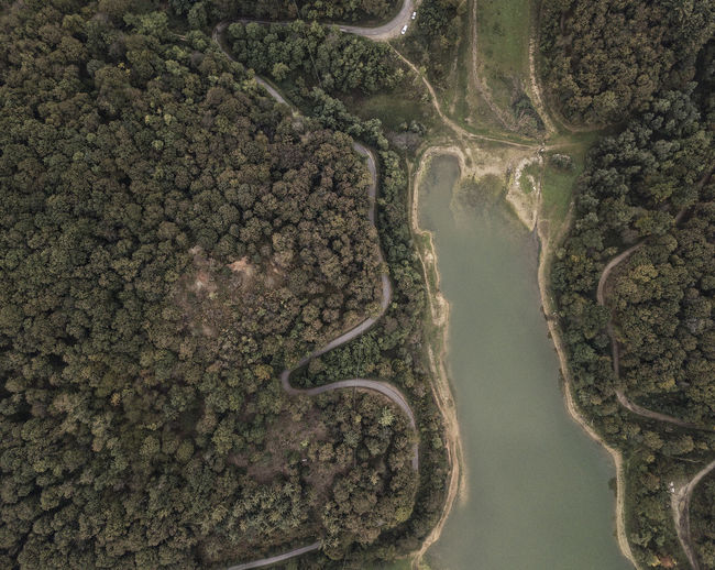 An alpine lake photographed from the sky (Piedmont, Italy) Aerial View Water No People Nature Tree River Beauty In Nature Plant Forest Non-urban Scene Scenics - Nature Tranquility Dronephotography Drone  Droneshot Tranquil Scene Environment Environmental Conservation Conservation Environmental Issues Lake View Cuneo Piedmont Italy Italy EyeEm Nature Lover