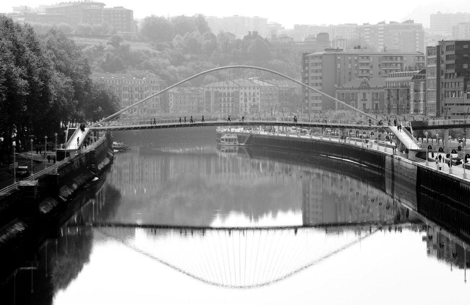 April 2014 Architecture Bridge Bridge - Man Made Structure Built Structure Canal Connection Development Engineering Famous Place Footbridge International Landmark Long Railing River Water Waterfront
