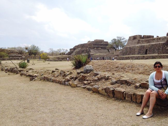 Oaxaca México  MonteAlban Archeology ArcheologicSite LoveIt ❤️ Vacation Happy :) ThatsMe Mexican Girl