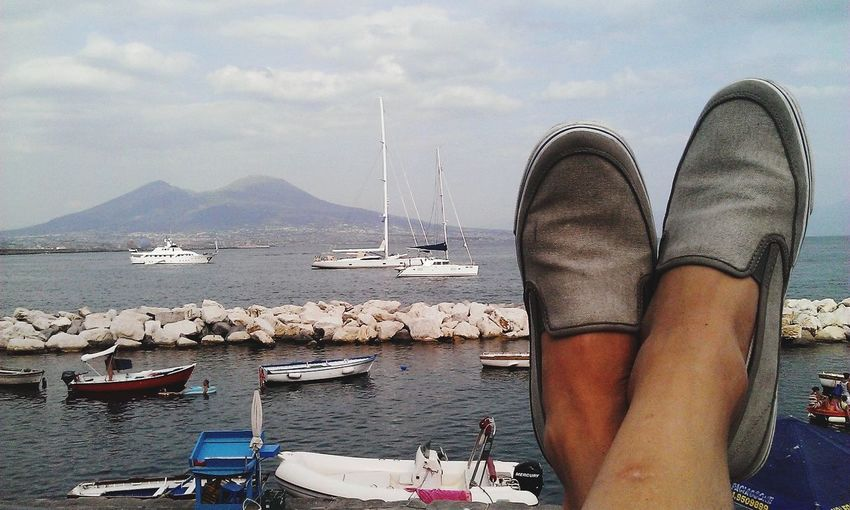 Me Inmytown Relaxing Time Naples Is Wonderful Vesuvio Vesuvius  Italy Ilovethiscity