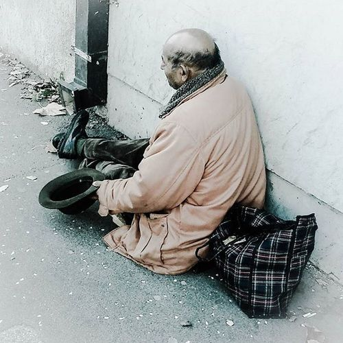 Homeless Beggar Photo Moment Fuckthelife Mood New Now Life Cruellife