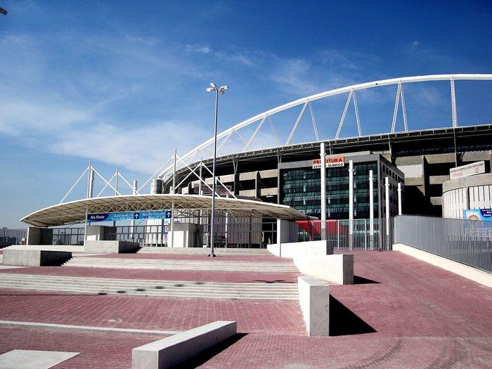 EyeEm Selects Business Finance And Industry No People Sky Outdoors Day Golf Club Stadium Engenhão Nilton Santos Stadium João Havelange Stadium