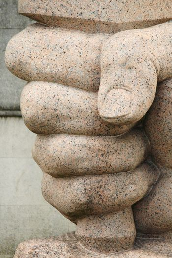 Jean Moulin Memorial... EyEmNewHere Memorial EyeEm Selects Human Hand Sculpture Statue Sand Stack Close-up Ancient