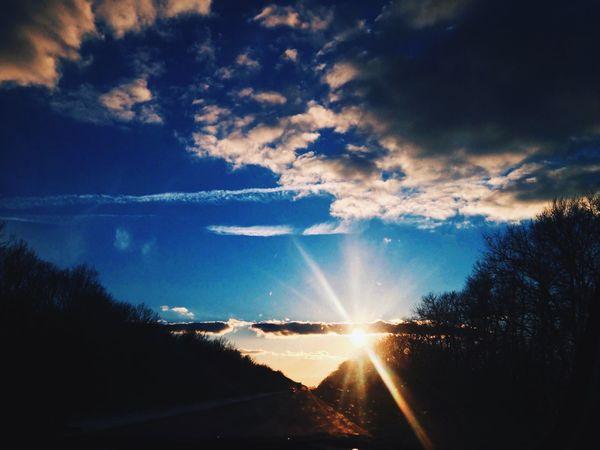Nature Nature_collection EyeEm Nature Lover Russia Ride Sky Sun Sunset 🌞🚘