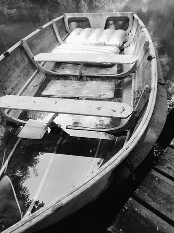 Shades Of Grey Boat Light And Shadow Monochrome Blackandwhite Water Reflections Reflection_collection EyeEm Nature Lover OpenEdit