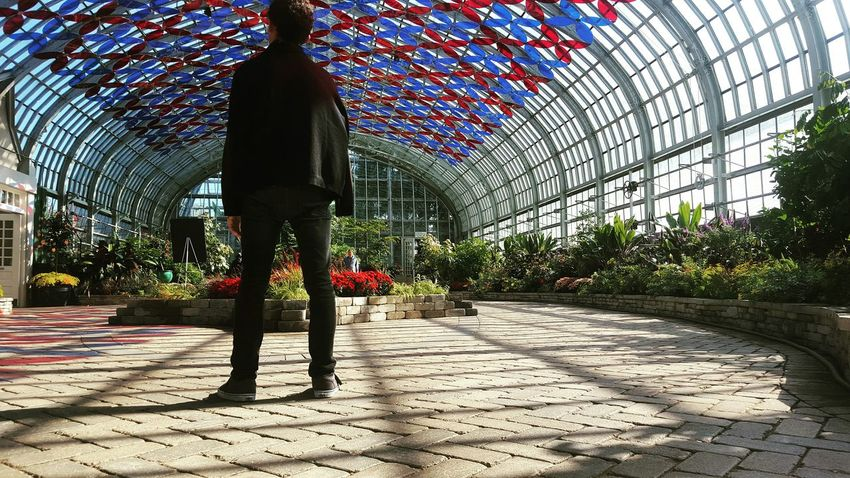 Conservatory Chicago Artificially Natural Learn & Shoot: Leading Lines