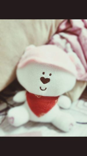 Cutest gift i eva hb in my life.. Check This Out Taking Photos Cute Doll #hongkong Yau Ma Tei.