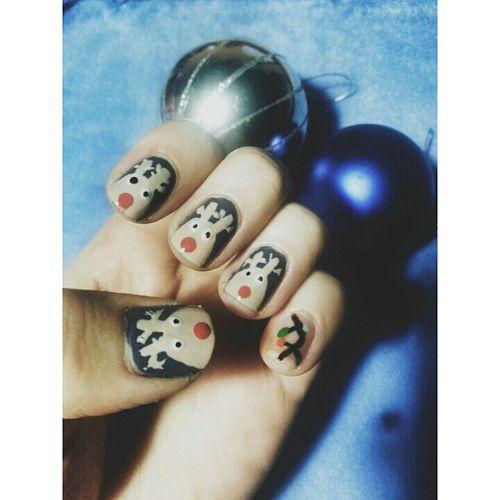 I ♥ Nailart  Nail Christmas Santa Xmas Happy Naildesign My Nails  Nailsart Beatiful
