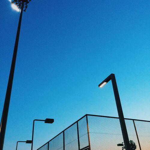 Fence & Sunset