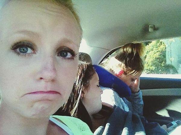 stuck in traffic :(