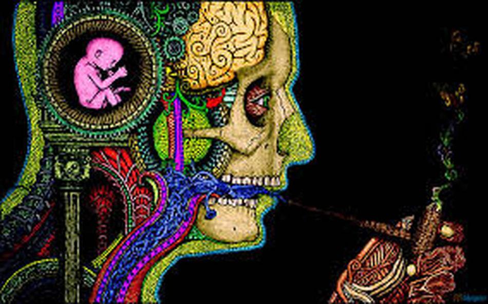 Art I Love Techno Smoke That hmm