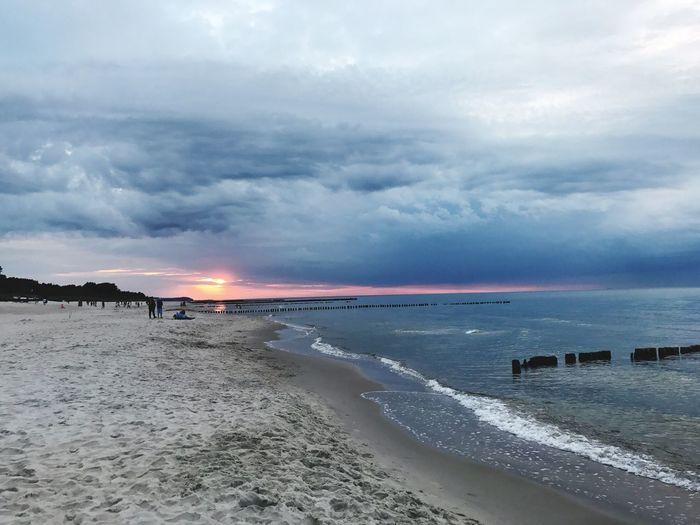 Sea Sunset Holidays First Eyeem Photo