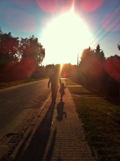 end of summer Sunset Shadows Balloon