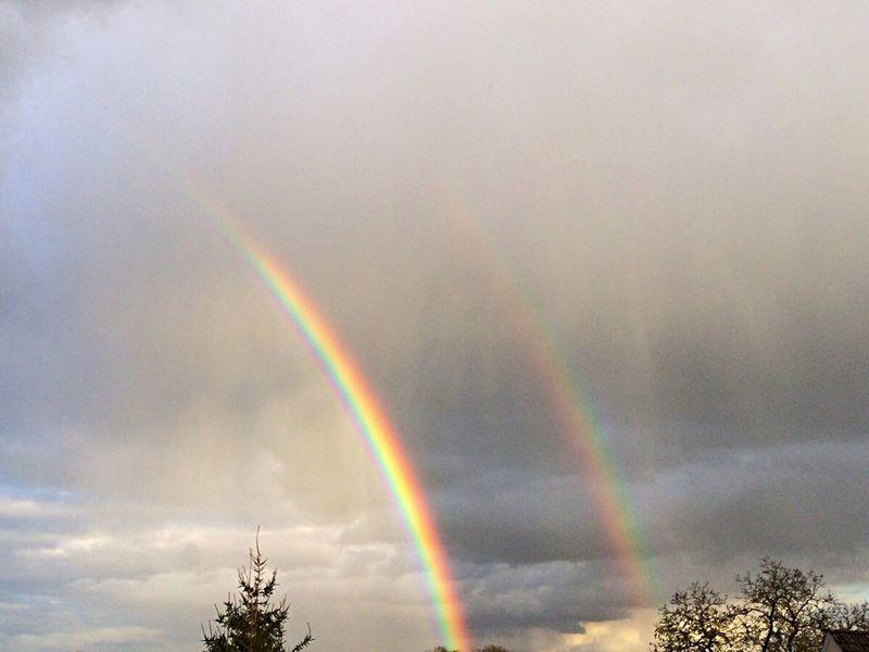 Rainbow Double Rainbow Sky Tadaa Community