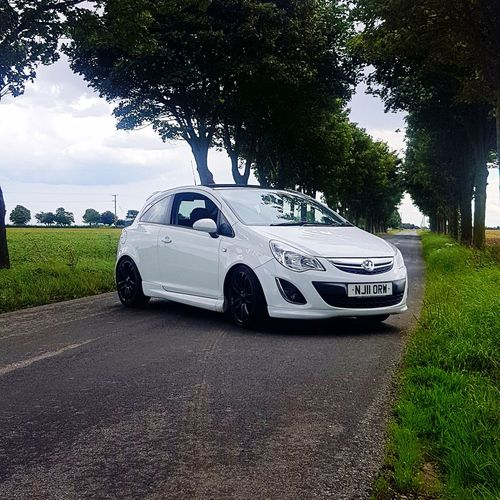 Limited edition corsa D Transportation Car Mode Of Transport Day Outdoors No People Tree Sky Hull City Of Culture 2017 Nature Taking Photos Enjoying Life Check This Out Adventure Club Best Of EyeEm Eyeemvision Leaf Plant Freshness Beauty In Nature Showingoff Hull City Of Culture 201 New Car Happy :)